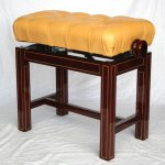Concert stool sakore with maple inlinesI