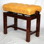Concert stool makore with maple inlines II