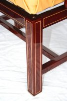Concert stool makore with maple inlines III